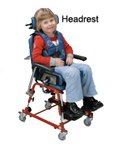 First Class School Chair Headrest