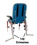 First Class School Chair Leg Extensions