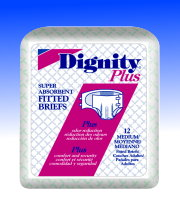 Dignity Plus Disposable Youth Fitted Briefs