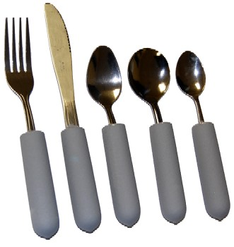 Youth Weighted Utensils - Angled or Straight KE11201